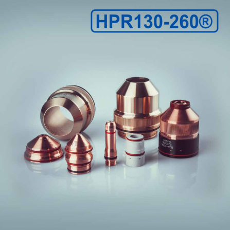 HPR130-260 Plasma Torch Consumable parts
